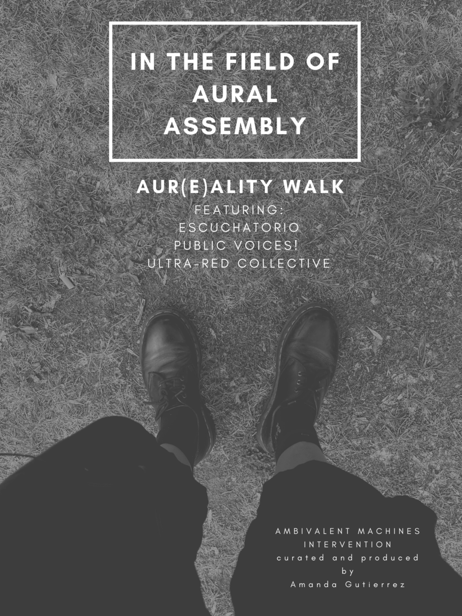 In the field of aural assembly (1)